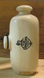Vintage Royal Doulton Stone Hot Water Bottle