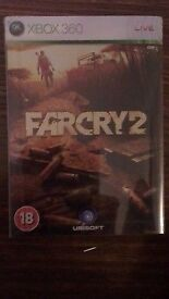 Limited edition version of Farcry 2 for Xbox 360