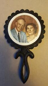 President and Mrs. Dwight Eisenhower Trivet Circa 1953 to 1961