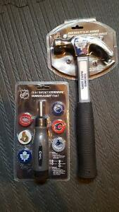 Toronto Maple Leafs Hammer and Ratchet Screw Driver - NEW London Ontario image 1