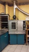 Garland TG3 Gas Commercial Oven with shelving & baking trays