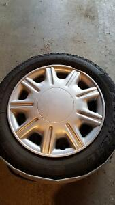 WINTER TIRES:15 inch Federal Himalaya WS2 winter tires with rims