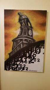 Halifax town clock by Scott Tobin