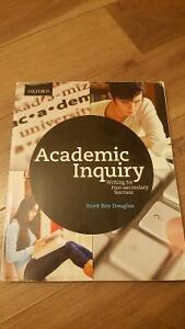 Academic Inquiry Writing for Post-secondary Success