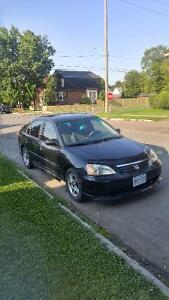 *AS IS* 2002 Honda Civic LX-G Sedan - Manual