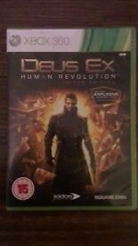 Deus Ex Human Revolution Limited Edition for Xbox 360