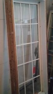 Fenêtre usagée à  battant Solaris