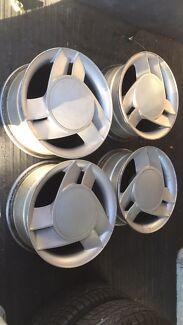 F.S dealer fitted GM (formula pack) wheels