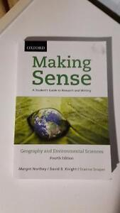 Making Sense of Geography 4th edition