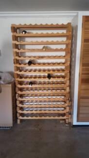 Wooden Modular Wine Rack