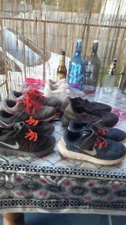 Bundle of boy shoes