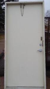 36inch steel doors and frame