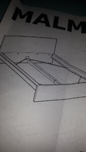 IKEA MALM BED FRAME STILL IN BOX..DOUBLE..WTE