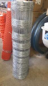 "47"" Tall x 330ft. Long Galvanized Livestock Fencing Wire"