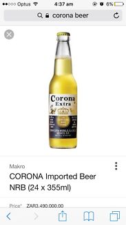 Corona beer bottles for home brew, stubbies