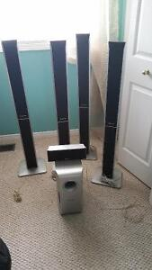 PANASONIC HOME THEATER SYSTEMS, 7 pieces