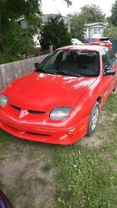 2002 Pontiac Sunfire Berline 700$