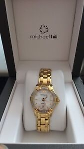 Woman's Diamond and gold Watch Fortitude Valley Brisbane North East Preview