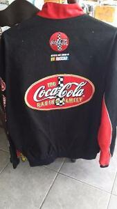 Cotton twill Coca-Cola Racing Family JH design NASCAR Jacket XL Kitchener / Waterloo Kitchener Area image 2