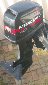 40HP oil injected Mercury outboard