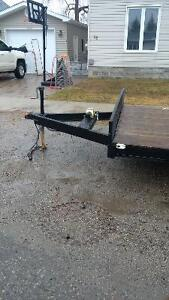 selling dual axle trailer