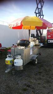 Willy's Hot Dog Cart