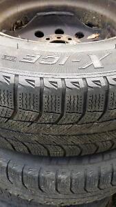 4   Michelin x ice tires