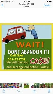 CASH FOR UNWANTED SCRAP OLD DAMAGE CAR VAN UTE TRUCK 4X4CALL Auburn Auburn Area Preview