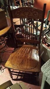 Antique press back dining chairs - several to choose from! Kitchener / Waterloo Kitchener Area image 8