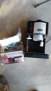 Delonghi espresso/cappuccino maker
