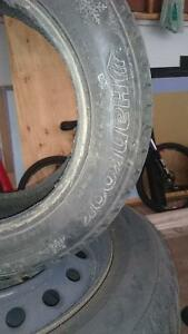 One Hankook I*pike tire 185/65R14 West Island Greater Montréal image 2