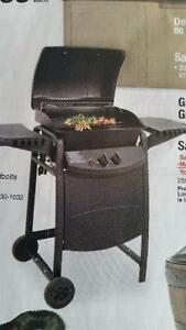 THERMOS TWO BURNER GAS GRILL BRAND NEW IN BOX WON IN GOLF $129