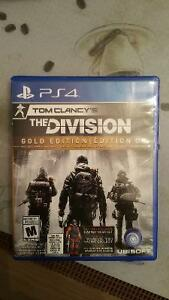 The division, Tom Clancy,  gold edition PS4