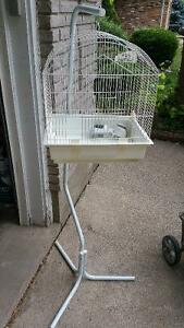 Bird Cage With Stand - WHITE $30