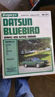 Datsun Bluebird Manual  Melb S/East Glen Waverley Monash Area Preview