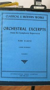 Orchestral Excerpts (flûte)