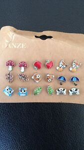 9 pieces of Brand new earrings Woolloongabba Brisbane South West Preview