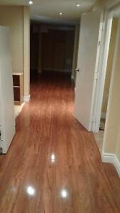 2 large bedrooms basement apartment for rent. $1200.00