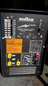 Machine a souder Miller AC/DC Welding machine
