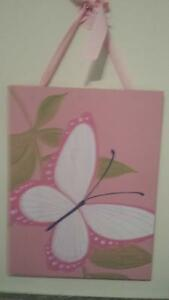 Pottery Barn - butterfly plaque