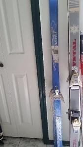 used cross country and downhill ski