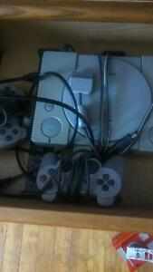 ps1 with 2 games..