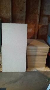 2X4 Ceiling Tiles and T bars