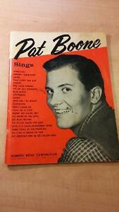 Pat Boone Song Book