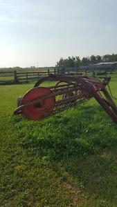 Massey side hayrake