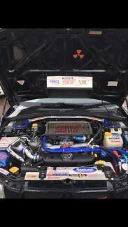 Subaru WRX 2.5ltr Turbo engine