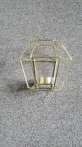10x geometric candle holders Elizabeth North Playford Area Preview