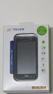Telus HTC desire 320 Prepaid cell No activation fee