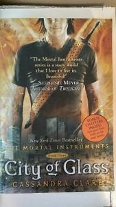 Three books from the Mortal Instruments Series