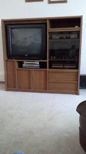 "Palliser TV stand with 26"" TV"
